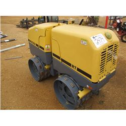 "2012 WACKER RT TRENCH ROLLER, VIN/SN:20017266 - 32"" DRUMS, VIBRATORY, METER READING 312 HOURS (REMOT"