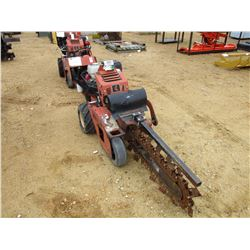 2011 DITCH WITCH RT-12 TRENCHER, VIN/SN:556 - GAS ENGINE, WALK BEHIND, METER READING 149 HOURS