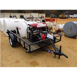 WHITCO 5035VI GPO CLEANING SYSTEM, - VANGUARD 18HP ENGINE, MOUNTED ON S/A TRAILER, 225 GAL TANK, (2)