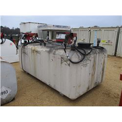 STORAGE CONTAINER FOR FLAMMABLE LIQUIDS, 500 GAL