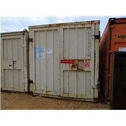 22' STEEL SHIPPING CONTAINER