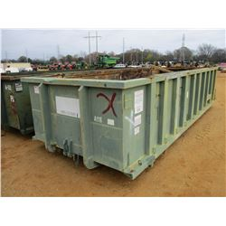 ROLL OFF CONTAINER 20 CU YD