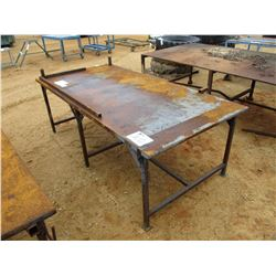 "48""X8' METAL TABLE"