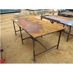 4'X8' METAL TABLE