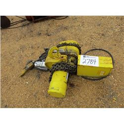 BUFGIT 3 TON OVERHEAD CHAIN HOIST (COUNTY OWNED)