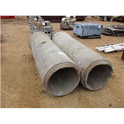 "(2) 24"" X 8' CONCRETE PIPE"