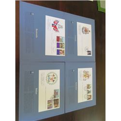 Royal Commonwealth Society - Official Commemmorative Stamps Honoring Queen Elizabeth Silver Jubilee