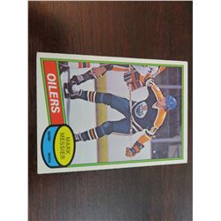 Mark Messier rookie card