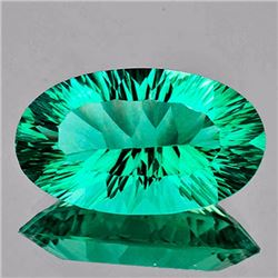Natural Emerald Blue Green Fluorite 19.44 Ct