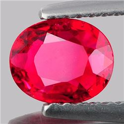 Natural Pigeon Blood Red Burma Spinel 1.20 Ct