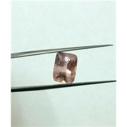 Natural Champagne Sapphire 4.02 carats - no treatment