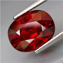 Natural Red Spessartite Garnet 5.17 Carats