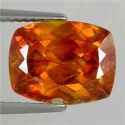 Natural Stunning Cushion Orange Spahlerite 7.35 Carats