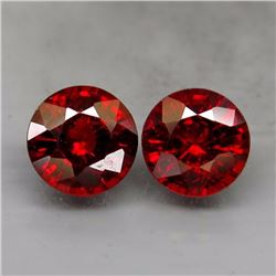 Natural Red Spessartite Garnet Pair  2.00 Ct.