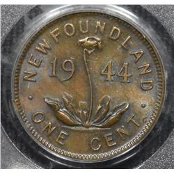 1944C Newfoundland One Cent