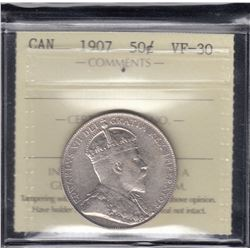 1907 Fifty Cents