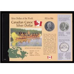 1965 Silver Dollar in Card