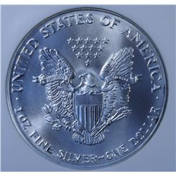 United States Silver American Eagle, 1992