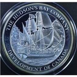 The Hudson's Bay Company Silver Medal