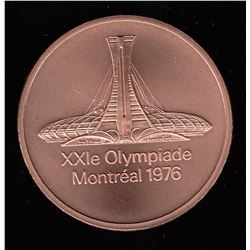 Official Bronze Commemorative Medallion 1976 Olympic Games, Montreal