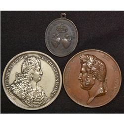 Lot of 3 French