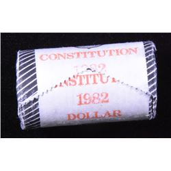 Original Mint Roll 1982 Constitution Dollars
