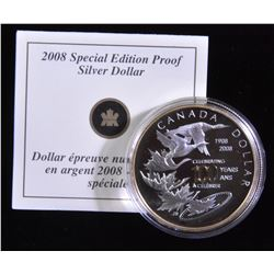 2008 Special Edition Proof Silver Dollar