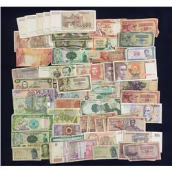 Foreign Banknotes - Lot of 51