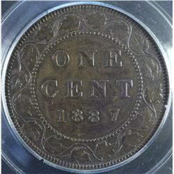 1887 One Cent - Lot of 3