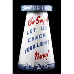 """The """"Guide Lighthouse"""" Service Station 3-D Display"""