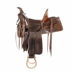 Al Furstnow Saddlery Co. Model 100 Saddle c. 1903