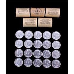 1964 Kennedy Half Dollar Rolls $60 Face Value
