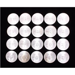 Mexico Sterling Silver Coin Collection