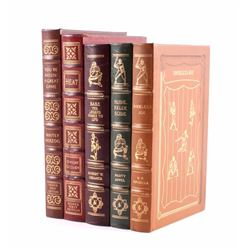 Easton Press Leather Baseball Book Collection