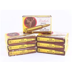.240 Weatherby Magnum Ammunition 130 Rounds