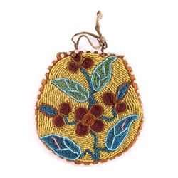 Nez Perce Native American Indian Beaded Pouch