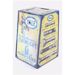 Yale Flashlight Countertop Advertisement Display