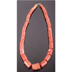 Large Chinese Branch Coral Necklace