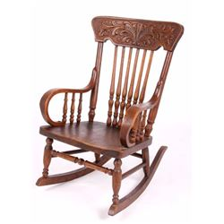 Child's Antique Rocking Chair