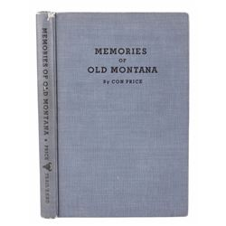 Memories of Old Montana - Signed Con Price