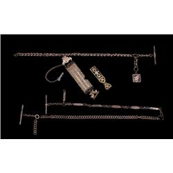 Assorted Gold Plated Antique Watch Fobs