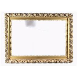 Ornate Carved Gold Tone Premium Picture Frame