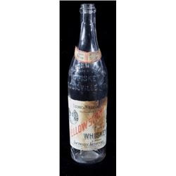 Original Yellowstone Rye Whiskey Glass Bottle
