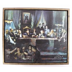 "Ylli Haruni - ""Fallen Last Supper Bad Guys"" Canvas"