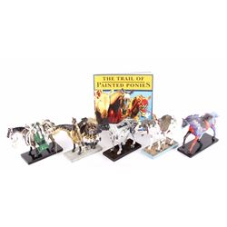 "Collection of ""The Trail of Painted Ponies"""