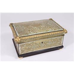 19th C French Boulle Style Box