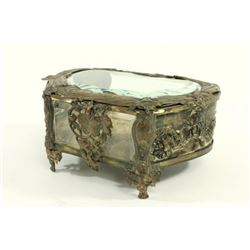 French Art Nouveau Vanity Box