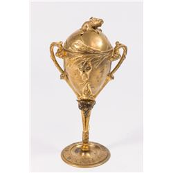 19th Century Gilded Bronze Incense Burner