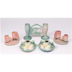 Lot 5 Roseville Pottery Items