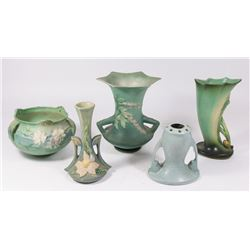 Lot 5 Roseville Pottery Pieces